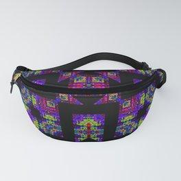 Neon Aztec Fanny Pack