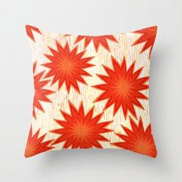 Summer Flare Throw Pillow
