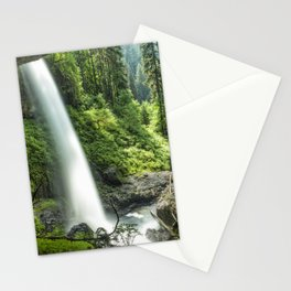 Looking Out From Under North Falls Stationery Cards