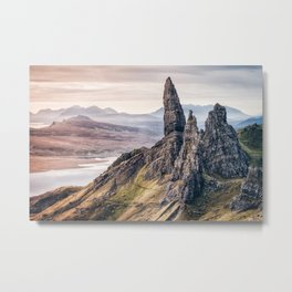 Old Man of Storr, Isle of Skye, Scotland Metal Print