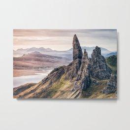Old Man of Storr, Isle of Skye, Scotland Metal Print
