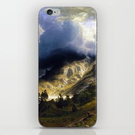 A Storm In The Rocky Mountains iPhone Skin