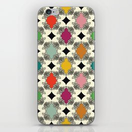 Moroccan Rose Motif iPhone Skin