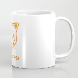P22 Mountain Lion Orange Coffee Mug