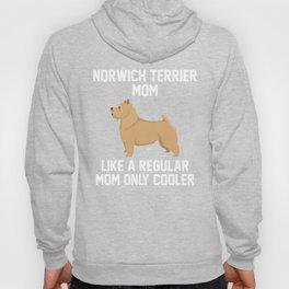 Funny Norwich Terrier Mom Hoody