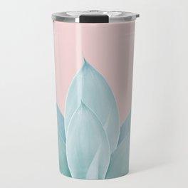 Blush Agave #2 #tropical #decor #art #society6 Travel Mug