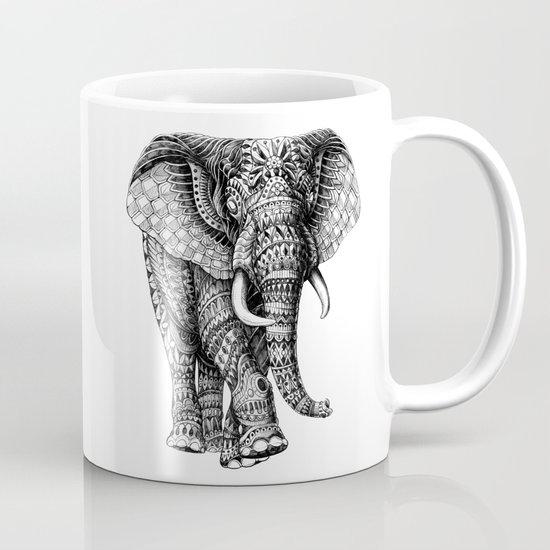 Ornate Elephant v.2 Mug