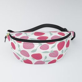 Pink strawberry pattern, fruit salad Fanny Pack