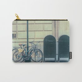 Bicycles and Mailbox Carry-All Pouch