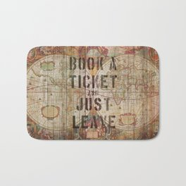 Book a Ticket and Just Leave Bath Mat
