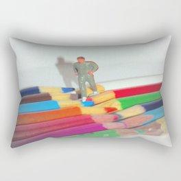 Fun Run Rectangular Pillow