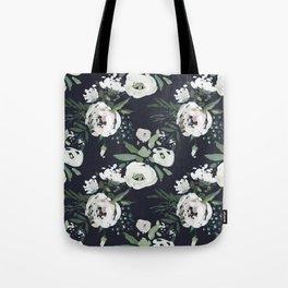 Rustic Floral Print Tote Bag