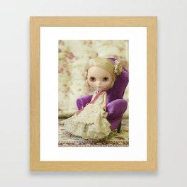 Blythe The Princess Framed Art Print