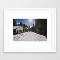 elmo Framed Art Prints featuring St. Elmo, Co. by Fabricio Obljubek