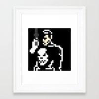 pun Framed Art Prints featuring Pun by Jjpro