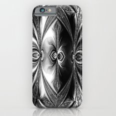 Abstract.White+Black Peacock. Slim Case iPhone 6s