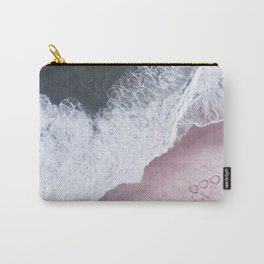 I love the sea - heart and soul Carry-All Pouch