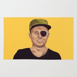 The Israeli Hipster leaders - Moshe Dayan Rug