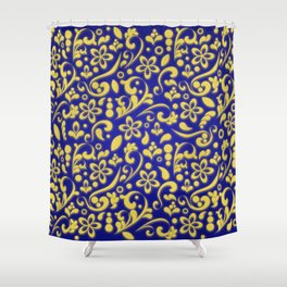 3D flamboyant flower bed - King's messenger Shower Curtain