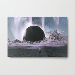Stare Into An Abyss Metal Print