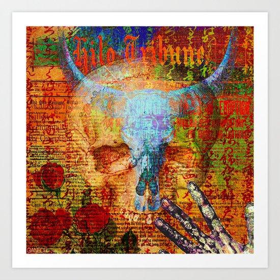 Dia de Muertos Art Print