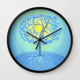 BEACON OF PEACE Wall Clock