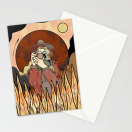 The autumn photographer  Stationery Cards