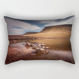 Llyn y Fan Fach Mountain Rectangular Pillow