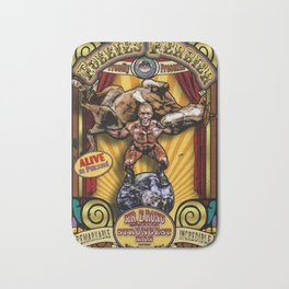 The Strongman: Sideshow Poster Bath Mat
