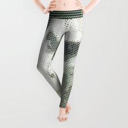 Halftone pixel fun MEERKAT Leggings