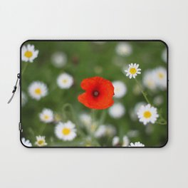 Poppy Flower Laptop Sleeve