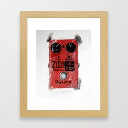 Guyatone PS 102 Zoom Box Distortion Framed Art Print