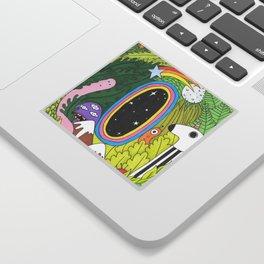 Universe Portal Sticker