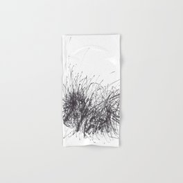Sound of Longing (Intuitive Sound Scribble #3) Hand & Bath Towel