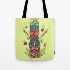 Tiki totem Tote Bag