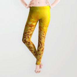 Sunny Summer Love - Yellow Gerbera #1 #decor #art #society6 Leggings