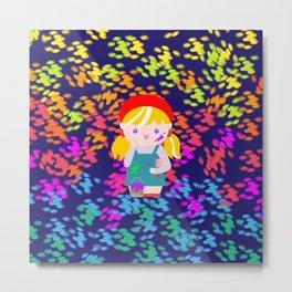 Momiji - Paint Metal Print