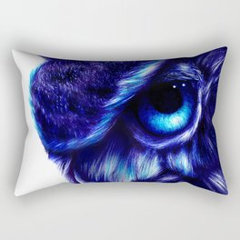 Crazy Owl By LegacyArt86 Rectangular Pillow