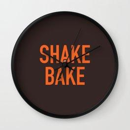 Shake and Bake Wall Clock