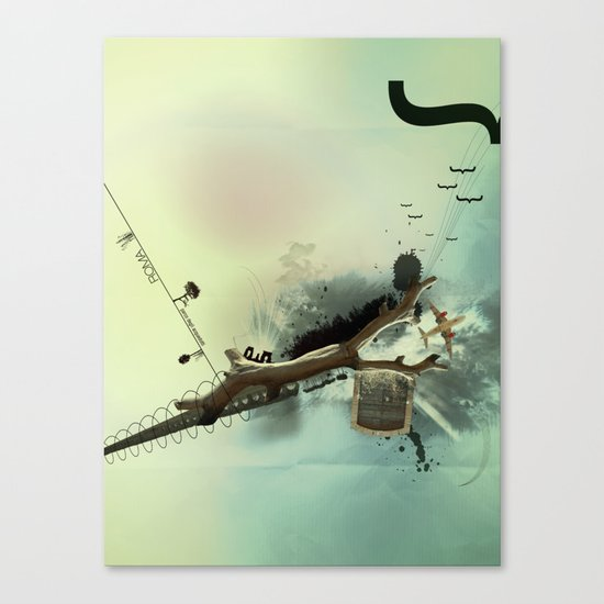 roma parco Canvas Print