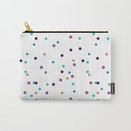 Party Confetti Pattern Carry-All Pouch