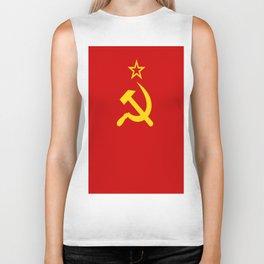 Flag of USSR Biker Tank
