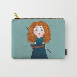 Kokeshi Merida (Brave). Carry-All Pouch