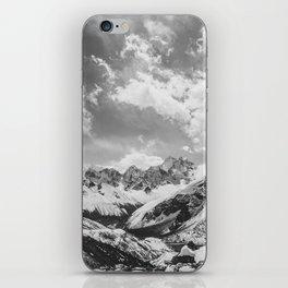 Everest base camp iPhone Skin