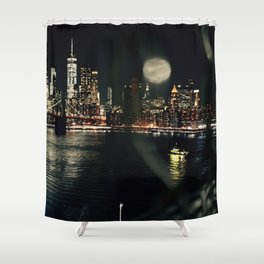 Caged views Shower Curtain