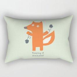 Get Your Mittens On! Rectangular Pillow