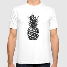 Pineapple SMALL Mens Fitted Tee White