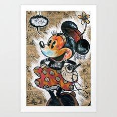 Minny-ot Art Print