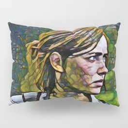 The Last of Us Ellie Artistic Illustration Infected Style Pillow Sham