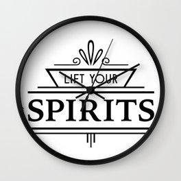 Lift Your Spirits Wall Clock